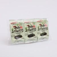 광천올리브유김(4gx3봉)-수출용