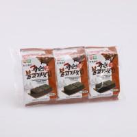 광천불고기맛김(4gx3봉)-수출용