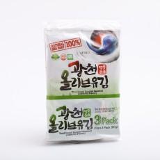 전장 광천올리브유김(20gx3봉)